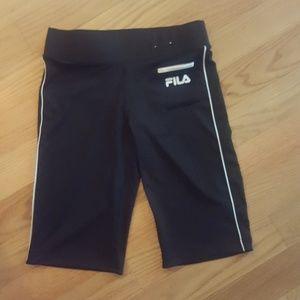 Women's Size XS Black Fila Athletic Shorts
